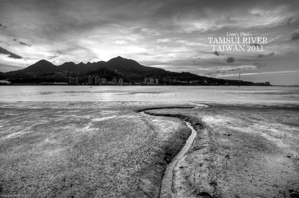 淡水河與觀音山|紅樹林堤岸步道|20111205