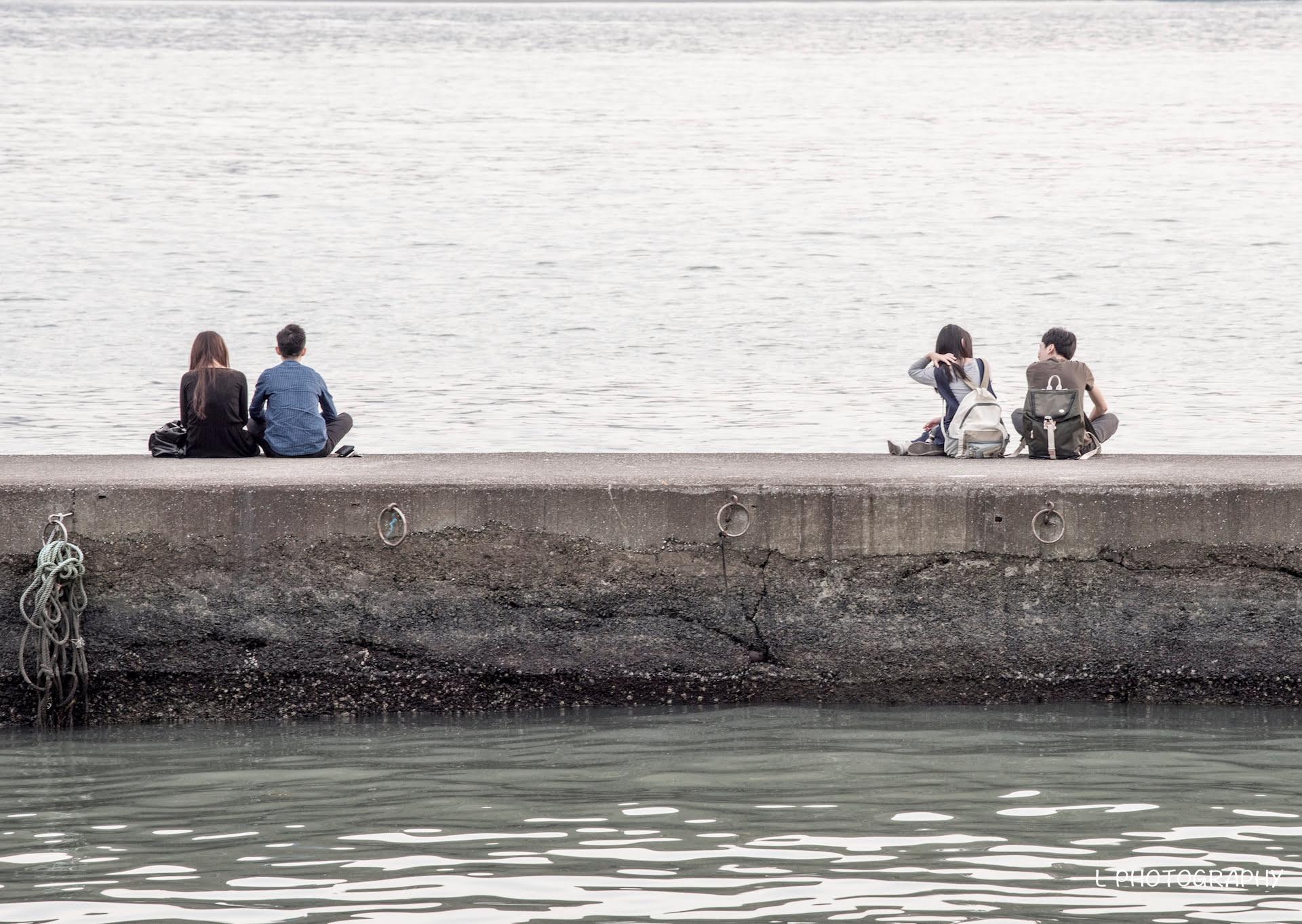 距離|淡水第一漁港|20170405