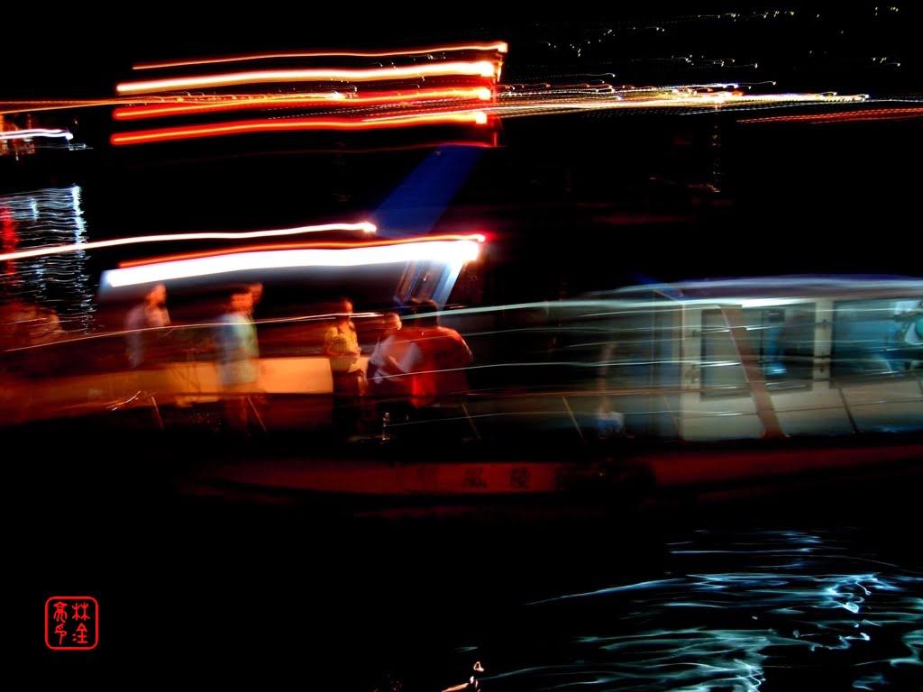 船燈|淡水河