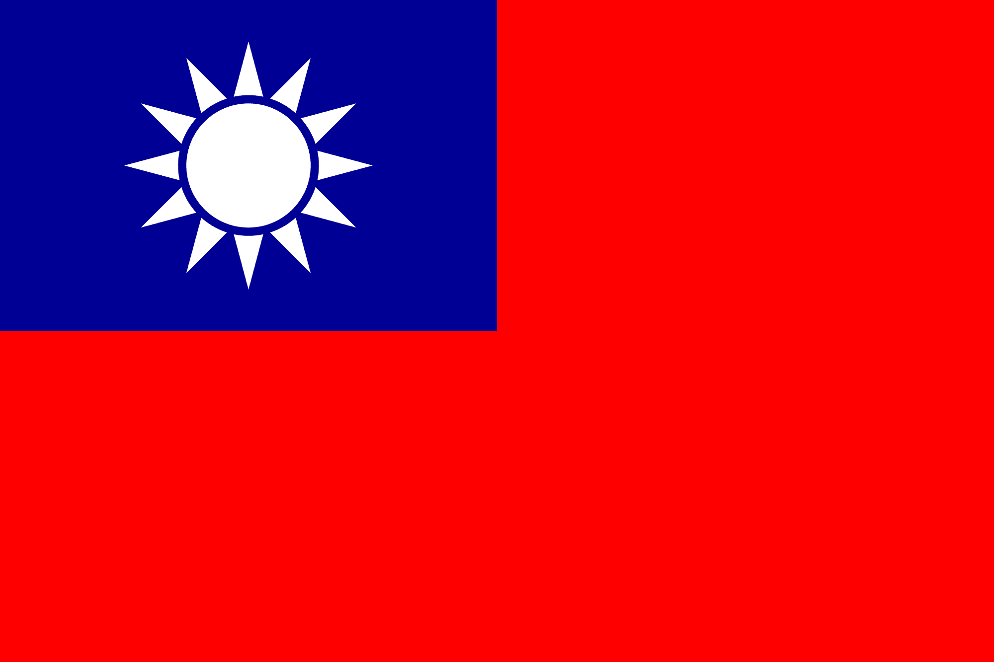 中華民國國旗 Republic of China National Flag