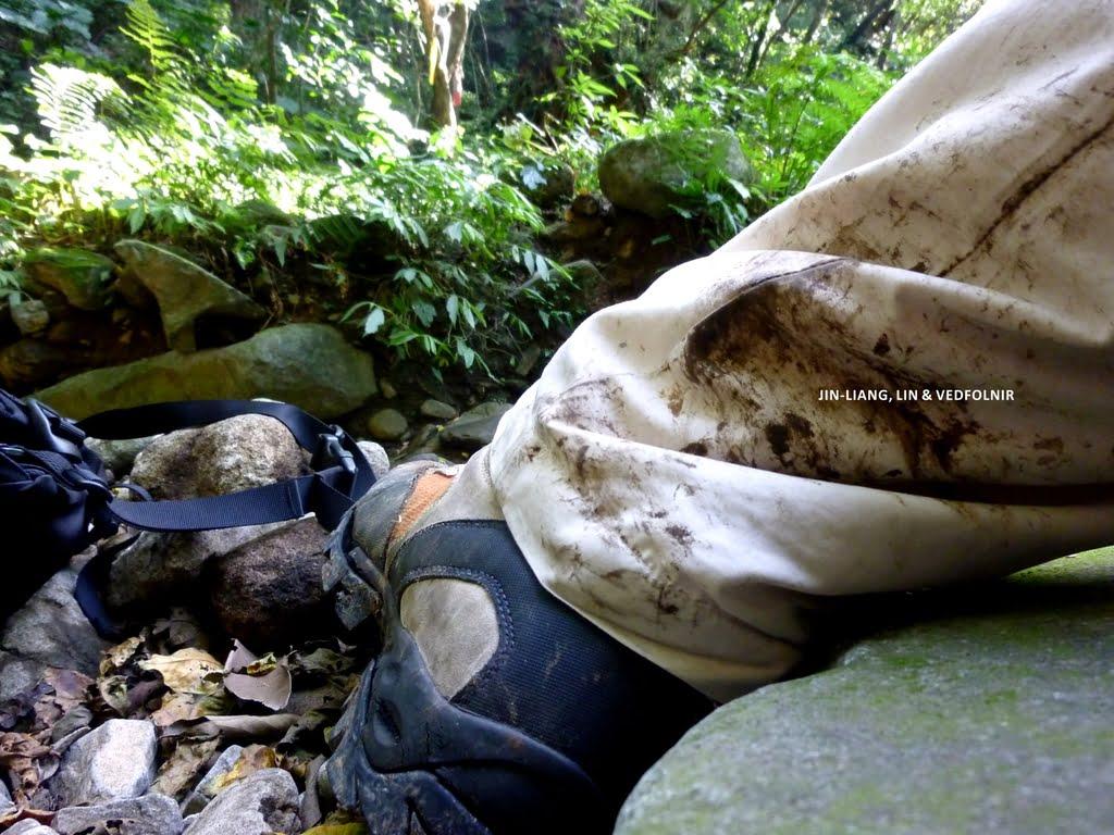 淡水瀑布與 Scarpa 登山鞋