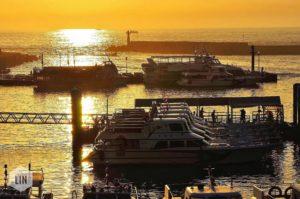 淡水漁人碼頭金色水岸